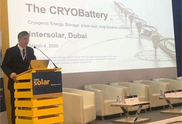 MASHRIQ ENERGY IS AT THE INTERSOLAR MIDDLE EAST CONFERENCE